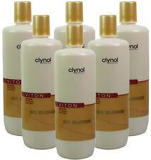 6x Clynol Viton Go Blonde Enlighten Shine Shampoo 1 Litre