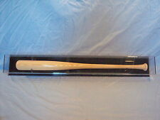 Baseball bat horizontal wall mount display case 85% UV filtering acrylic MLB