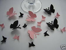 100 BUTTERFLY CHRISTENING TABLE CONFETTI SPRINKLES DECORATION 2 SIZES ANY COLOUR