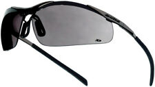 Bolle Contour Smoke Metal Frame Safety Glasses & pouch
