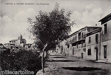 #CASTEL S. PIETRO ROMANO: VIA PRENESTINA
