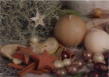 3D Lenticular Postcard - Christmas Spirit Ornaments  - Greeting Card