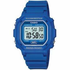 Official Blue Retro Illuminator Watch F-108wh-2aef From Casio 80s Brands