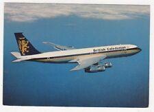 British Caledonian Boeing 707 Airline Postcard B622