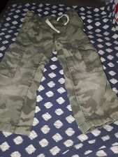 Baby Boy Old Navy Green Camo Pants:Size 18-24months