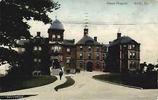 ERIE PA VIEW OF HAMOT HOSPITAL USED 1912