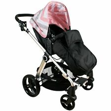 My Babiie MB150 From Birth Baby Pram / Pushchair Push Chair - Pink Chevron