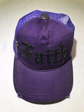 Faith Connexion Hat Purple  - Size Adjustable