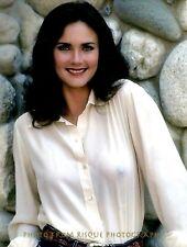 """Lynda Carter Wearing White Translucent Blouse 8.5x11"""" Photo Print Actress Posing"""
