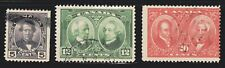 1927 Canada SC# - 146-148 - Historical Issue - Lot CU261 - Used