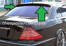UNPAINTED REAR WINDOW SPOILER FOR 1999-2006 MERCEDES S-CLASS-NO DRILLING