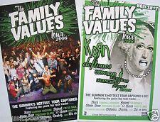 Family Values 2006 Tour Poster-Korn,Deftones,Ston esour,Flyleaf,Direngrey,10 Years