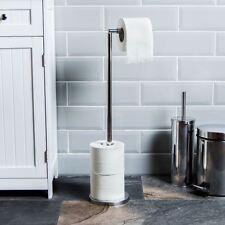 Papier Toilette Support autoportante Loo rouleau tissu Support de stockage par Home DISCOUNT