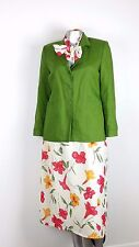 Mary Mc Fadden  Suit Skirt Size 12  3 pc Set   JACKET/SKIRT/SCARF (CHO1FC)