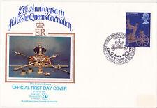 1978 Coronación-Arlington (investigación del cáncer) Cubierta - 9p-Centro De Sello De Camafeo Hs