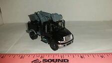 1/64 ERTL custom black international prostar bucket boom lift truck farm toy dcp