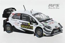 Toyota Yaris WRC Rallye Schweden 2020 Latvala Hänninen 1:43 IXO RAM 757 NEU