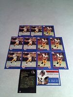 *****Mike Kerrigan*****  Lot of 21 cards.....3 DIFFERENT / Football / CFL