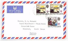 XX94 1970s SEYCHELLES *SCARCE 65c ISSUE* Victoria Commercial Air Cover PIRATES
