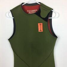 Billabong Andy Daris Wet Suit - Green- Size Large- EUC Sleeveless Full Length