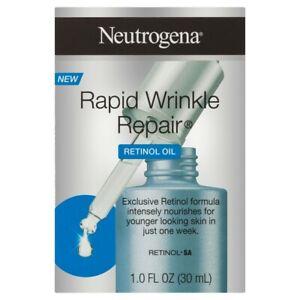 NEUTROGENA Rapid Wrinkle Repair RETINOL OIL + MAKEUP REMOVER + FOAMING SCRUB