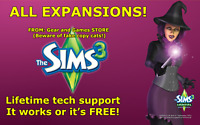 The Sims 3 Complete Collection - ALL EXPANSIONS Windows DOWNLOAD! EVERYTHING!