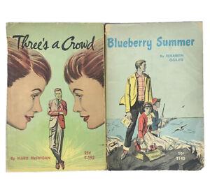 Blueberry Summer Threes A Crowd 1st Print Vintage Scholastic 2 PB Set T140 T192