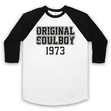 SOUL BOY 1973 NORTHERN SOUL MUSIC 70'S DANCING CRAZE UNISEX 3/4 BASEBALL TEE