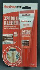 Fischer 320 Kilo Kleber Montagekleber Kleben statt bohren 80ml