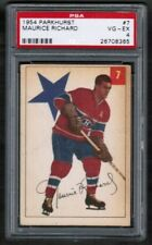 1954 55 Parkhurst #7 Maurice Richard PSA 4 Montreal Canadiens