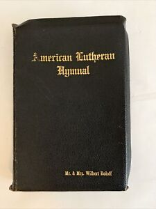 AMERICAN LUTHERAN HYMNAL Music Edition LEATHER 1930 Church Singing