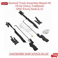 New Sunroof Track Assembly Repair Kit For Chevy Trailblazer GMC Envoy Saab 9-7x
