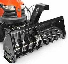 """Husqvarna Two Stage Lawn Tractor Mount Snow Blower Elect Lift (50"""") #967343902"""