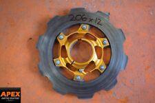 GO KART 206x12mm BRAKE DISC WITH 50mm WILDKART CARRIER - ROTAX GILLARD OTK BIREL