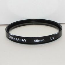 Quantaray UV 49mm Lens Filter Made in Japan