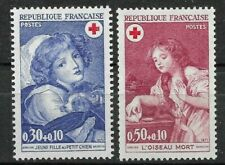 FRANCE 1971 - Complete Series 2 new stamps *.   RED CROSS     (6071)