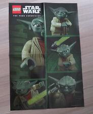 LEGO Star Wars™ Poster Yoda Chronicles Chroniken PROMO RARE NEW