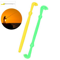 2Pcs Plastic Hook Tie Loop Tyer Disgorger Tool for Fast Knot Tying Fish Tackle