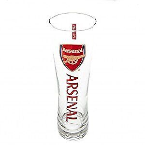 Arsenal FC Official Football Gift Tall Beer Glass
