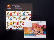 PORTUGAL 2004 World Cup Football Sheetlet & M/Sheet U/M FP9777
