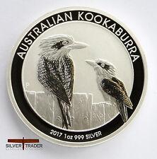 2017 1oz Australian Silver Kookaburra 1 ounce Silver Bullion Coin unc: