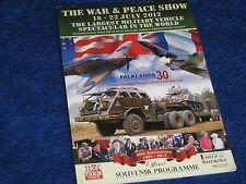 THE WAR & PEACE SHOW OFFICIAL PROGRAMME 2012.