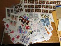 500 unused bulk lot of Canadian 8 cent postage stamps.  FV $40