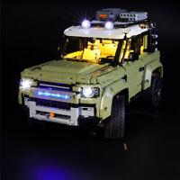 For LEGO 42110 For Land Rover Defender Car Bricks LED Light Lighting Kit ONLY