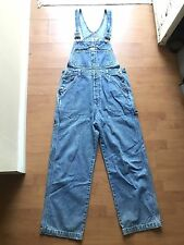 VTG Calvin Klein Jeans Overalls Size Medium Stonewash Denim 90s