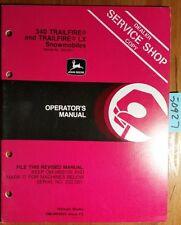 John Deere 340 Trailfire & 440 LX Snowmobile SN 222001-285000 Operator Manual 82