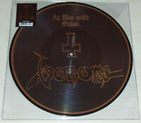 LP VENOM - AT WAR WITH SATAN - PICTURE DISC - NUOVO NEW