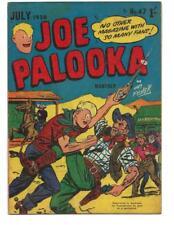 Joe Palooka #47 1956 Australian  Western Fight Cover!