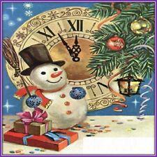 30 Custom Winter Holiday Art Personalized Address Labels