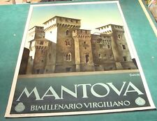vintage Original Poster: 1930's ENIT - MANTOVA ITALY POSTER by GUERRINI v nice